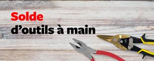 Solde d'outils à main