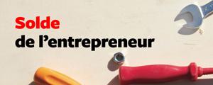 Solde de l'entrepreneur