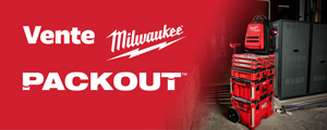 Vente Milwaukee packout