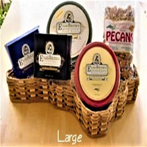 NC Pecan Basket Assortments-Large