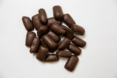Dark Chocolate Covered Pecan Brittle