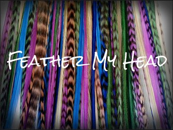 """Feather Hair Extensions - 16 Pc Mix Of Thin Fashion Euro Feathers - Long 9"""" -12"""" (23-30cm) Dark Blue Purple Beige Green - Boho Collection - Purple Haze - Optional Do It Yourself Kit"""