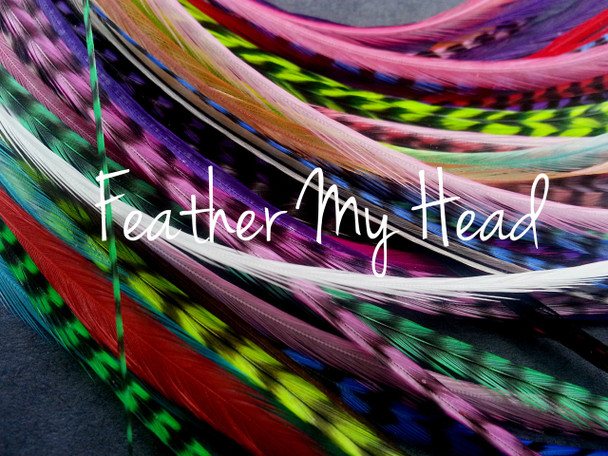 Premium Whiting Euro Hackle Feather Hair Extension