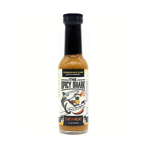 Caribbean Reef Shark Scotch Bonnet Hot Sauce