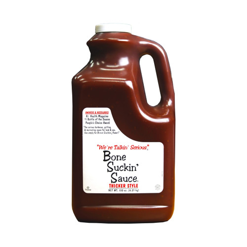 Bone Suckin' Sauce Thicker Style (150oz)
