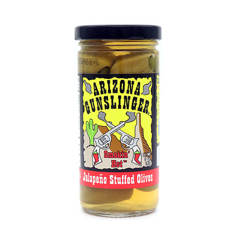 Arizona Gunslinger Jalapeno Stuffed Olives