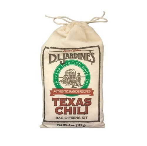 Jardine's Texas Chili Bag O' Fixins Kit