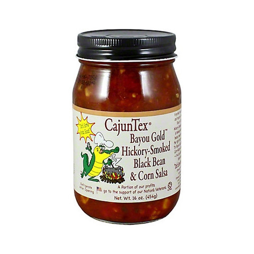 CajunTex Bayou Gold Hickory-Smoked Black Bean & Corn Salsa