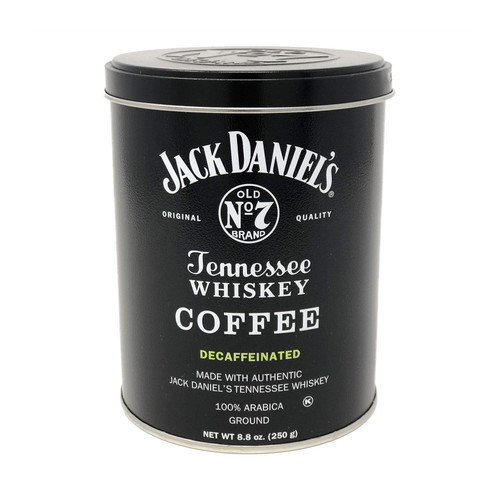 Jack Daniel's Tennessee Whiskey Decaf Coffee Can