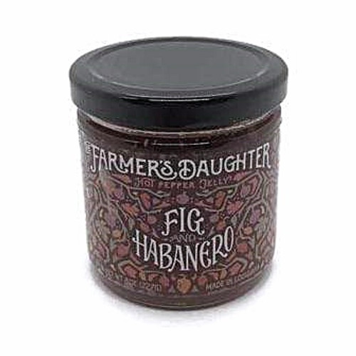 The Farmer's Daughter Fig and Habanero Hot Pepper Jelly