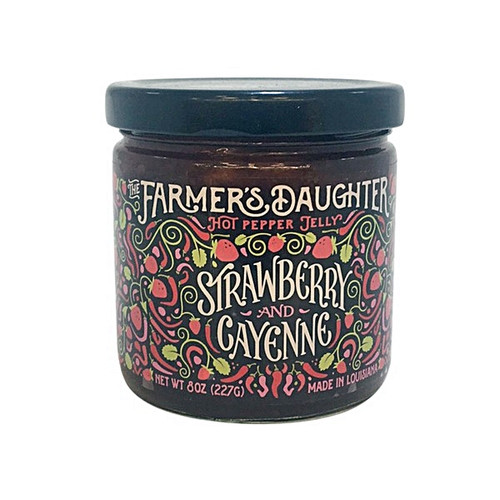 The Farmer's Daughter Strawberry and Cayenne Hot Pepper Jelly