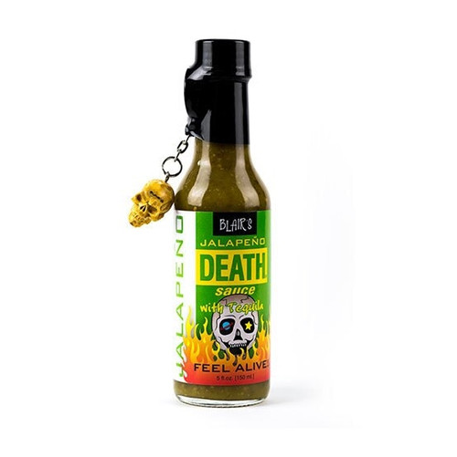 Blair's Jalapeno Death Sauce now available at Pepper Explosion