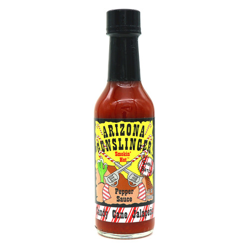 Arizona Gunslinger Candy Cane Jalapeno Hot Sauce