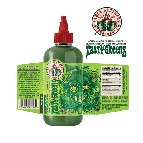 Sauce Brothers Tasty Green