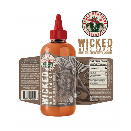 Sauce Brothers Wicked Wing Sauce