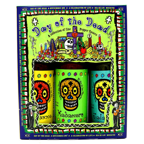 Day of the Dead Hot Sauce 3 Pack