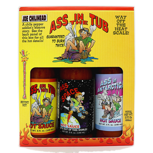 Ass in the Tub 3 Bottle Gift Set