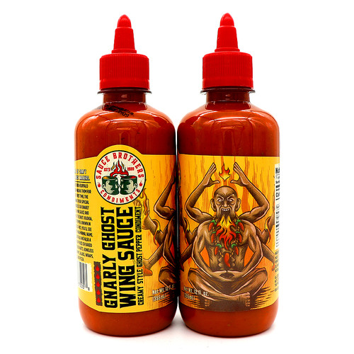 Sauce Brothers Gnarly Ghost Wing Sauce