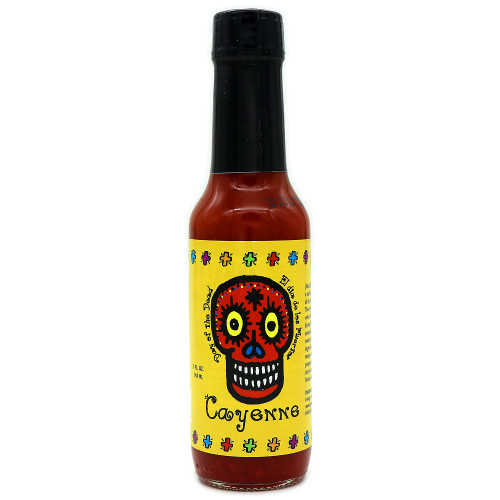 Day of the Dead Cayenne Hot Sauce
