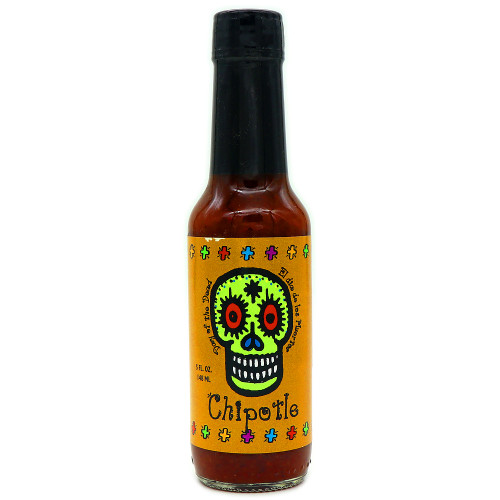 Day of the Dead Chipotle Pepper Sauce