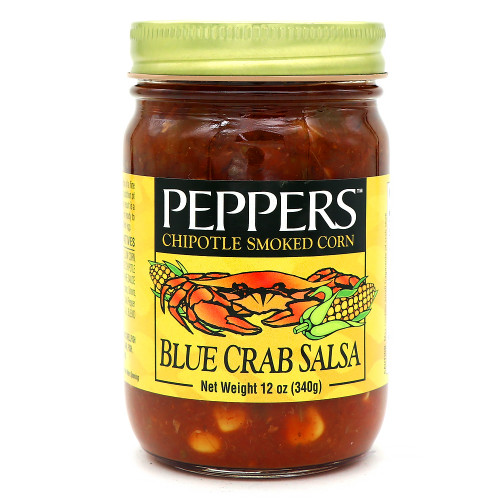 Peppers Chipotle Blue Crab Salsa