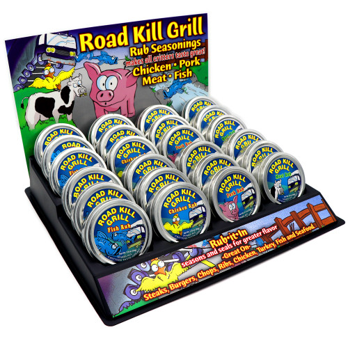 Dean Jacobs Road Kill Grill Variety Display
