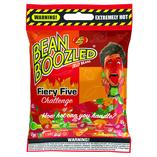 Jelly Belly BeanBoozled Fiery Five Challenge 1.9 oz