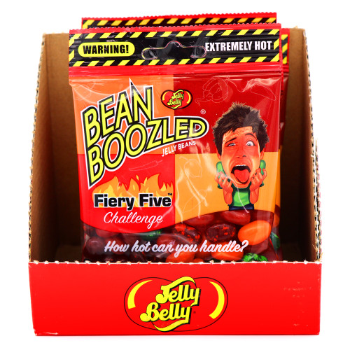 Jelly Belly BeanBoozled Fiery Five Challenge 1.9oz (Case)