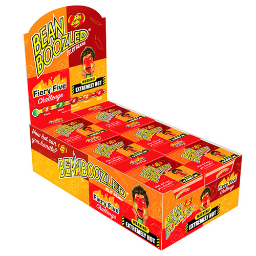 Jelly Belly BeanBoozled Fiery Five Challenge 1.6oz Case