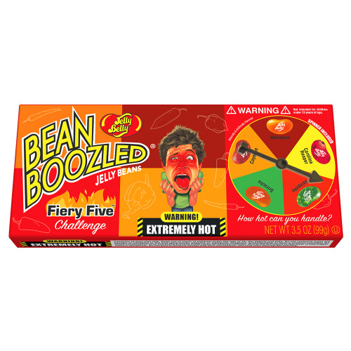 Jelly Belly Bean Boozled Fiery Five Challenge 3.5oz
