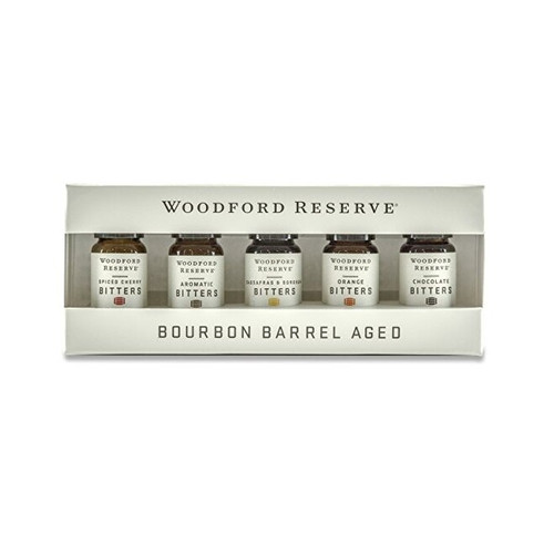 Bourbon Barrel Woodford Reserve Bitters Dram Set