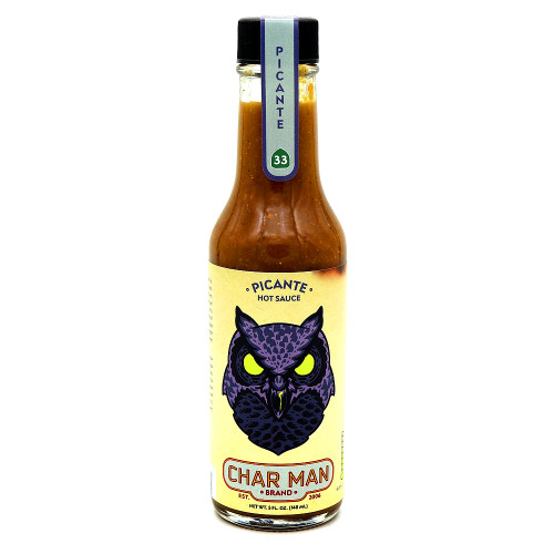 Char Man Picante Hot Sauce
