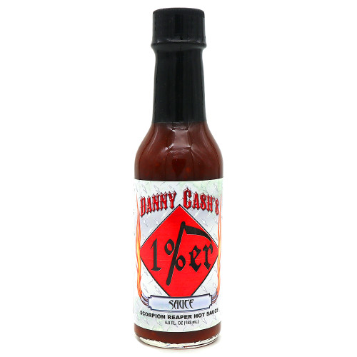 Danny Cash's 1%er Scorpion Reaper Hot Sauce