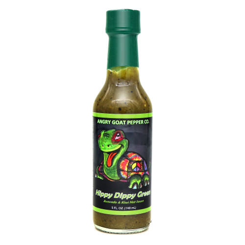 Angry Goat Hippy Dippy Hot Sauce