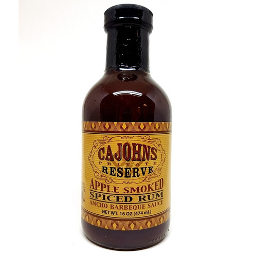Cajohn's Apple Smoked Spiced Rum Ancho BBQ Sauce