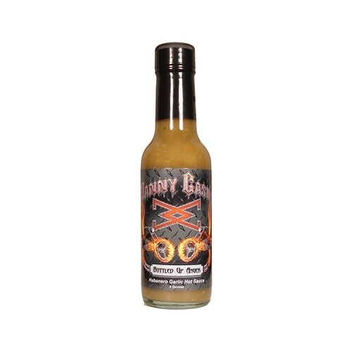 Danny Cash Bottled Up Anger Habanero Garlic Serrano Hot Sauce