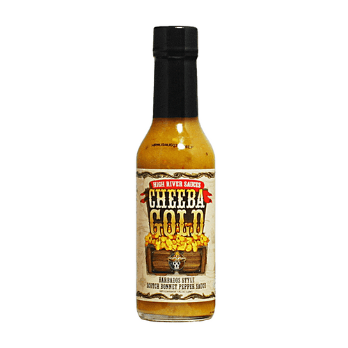 High River Sauces Cheeba Gold Barbados