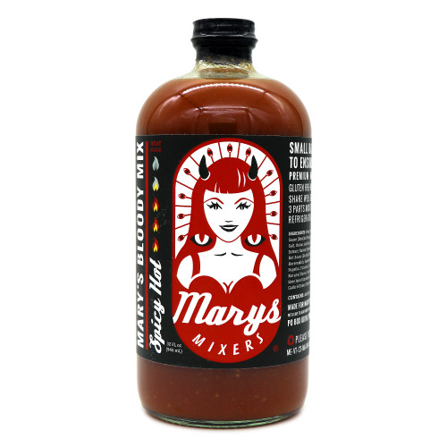 Mary's Mixers Spicy Hot