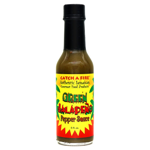 Catch A Fire Green Jalapeno Pepper Sauce