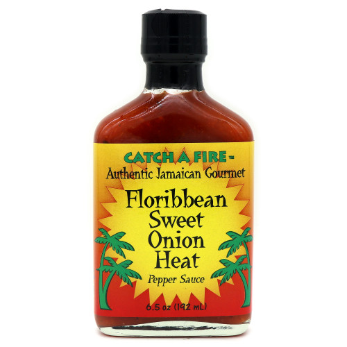 Catch A Fire Floribbean Sweet Onion Heat Pepper Sauce