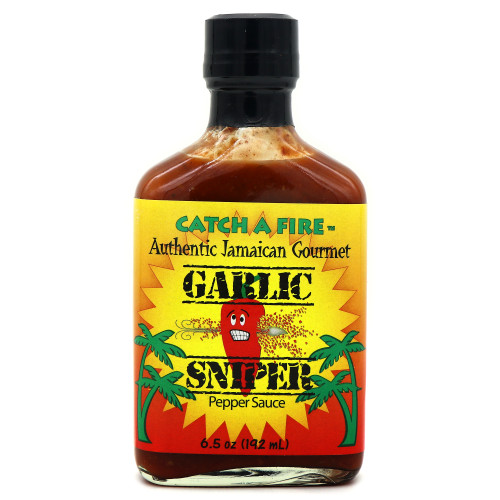 Catch A Fire Garlic Sniper Pepper Sauce