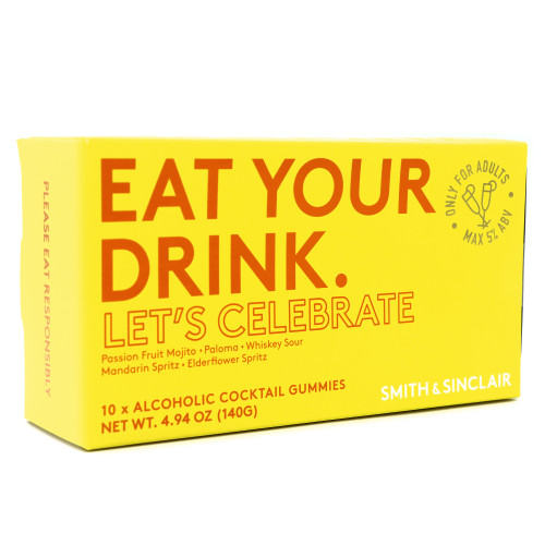 Smith & Sinclair Eat Your Drink - Let's Celebrate