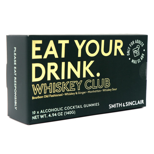Smith & Sinclair Eat Your Drink Whiskey Club