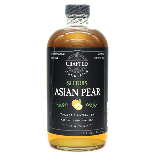 Crafted Brand Co. Shrubs Asian Pear Cocktail Enhancer