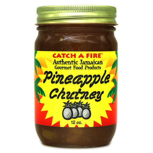 Catch A Fire Pineapple Chutney