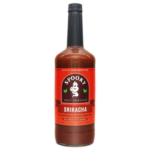 Spooky Sriracha Bloody Mary Mix