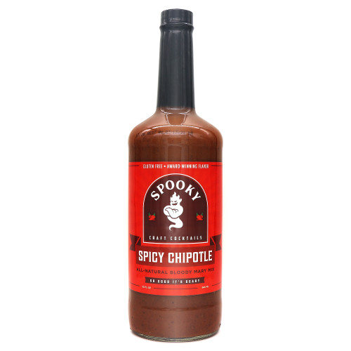 Spooky Spicy Chipotle Bloody Mary Mix