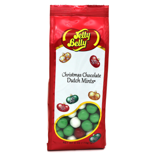 Jelly Belly Christmas Chocolate Dutch Mints Gift Bag