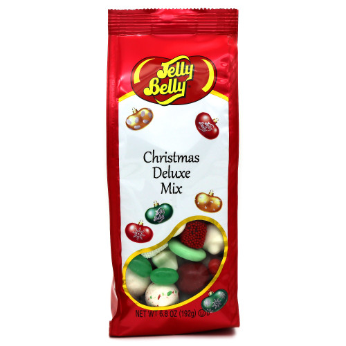 Jelly Belly Christmas Deluxe Mix Gift Bag