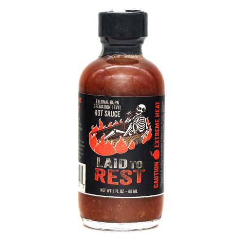 Flavor & Fire Laid to Rest Hot Sauce